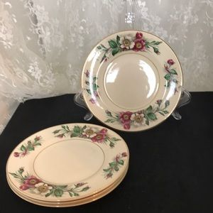 Set of 4 Bread & Butter Plates Montana by Maddock